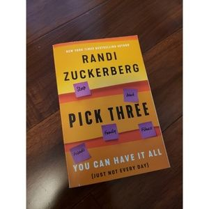 Other - Randi Zuckerberg - Pick Three